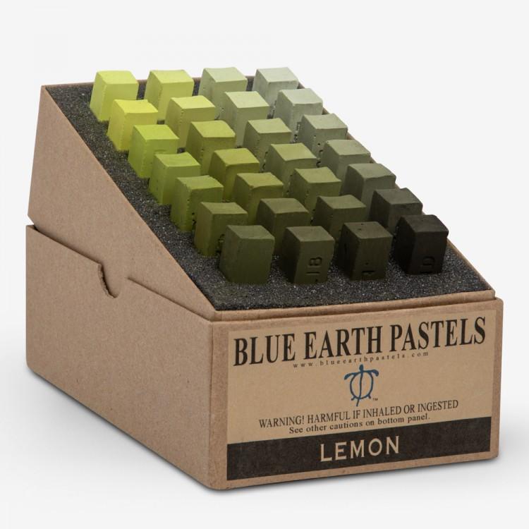 Blue Earth : Soft Pastel : 28 Stick Box Set : Lemon