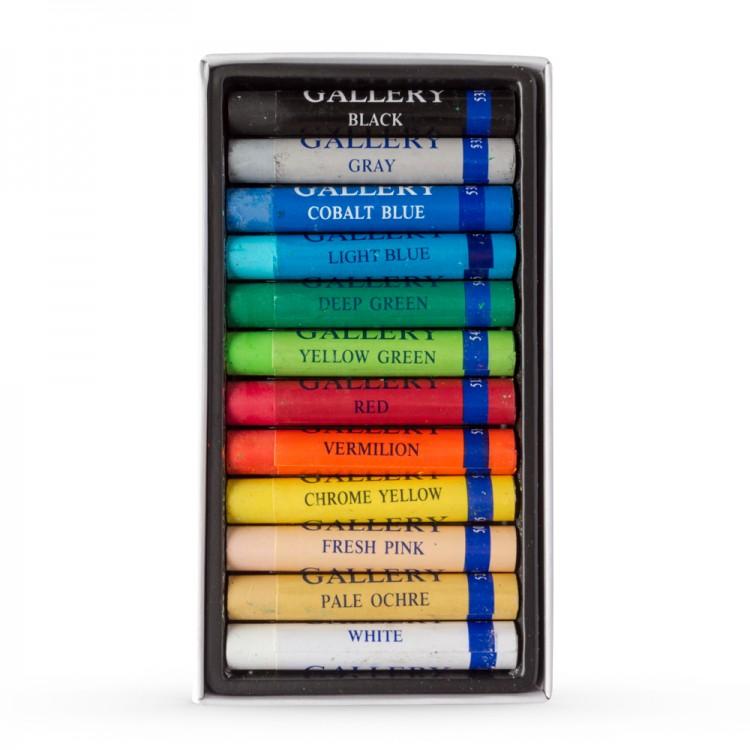 Inscribe : Oil Pastel Set : 12 Oil Sticks