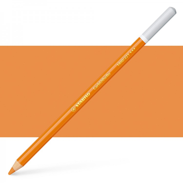 Stabilo : Carbothello : Pastel Pencil : Orange : 221