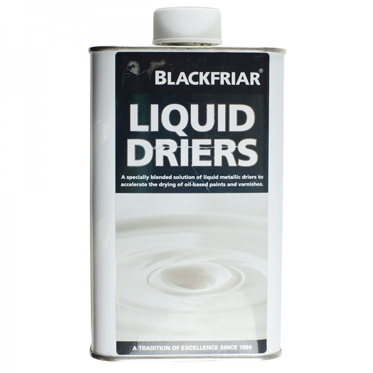 Blackfriars : Liquid Driers/Terebine : 500ml (By Road Parcel Only)