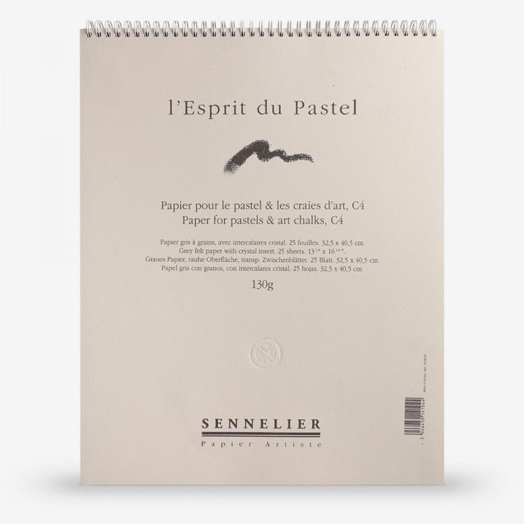 Sennelier : Soft Pastel Paper Pad : 130gsm : 25 Sheets : 40x30cm