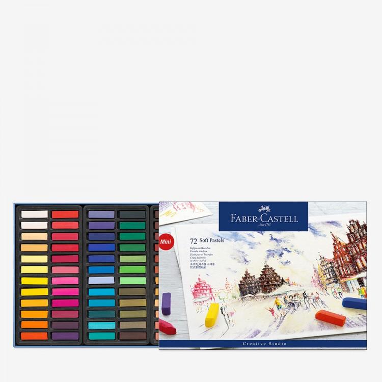 Faber Castell : Square Soft Pastel : Half Stick : Set of 72