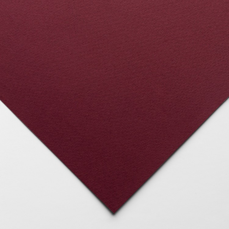 Fabriano : Pastel Paper : Tiziano : 50x70cm : Deep Burgundy
