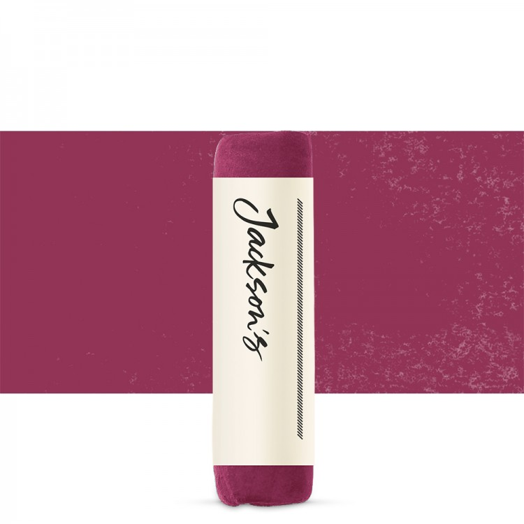 Jackson's : Handmade Soft Pastel : Deep Carmine