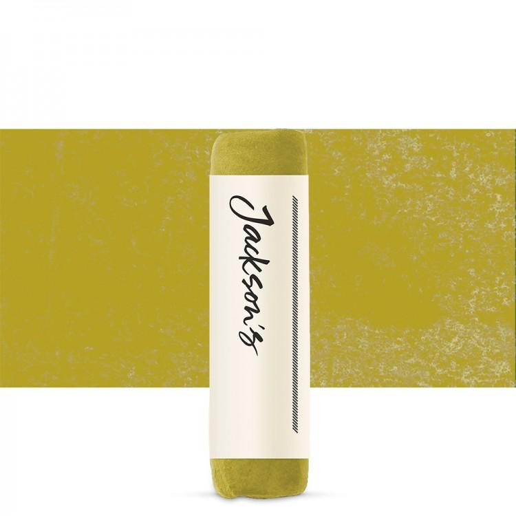 Jacksons : Handmade Soft Pastel : Yellowish Olive Green