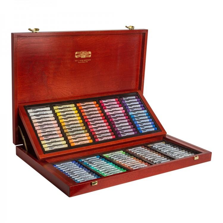 Koh-I-Noor : Toison d'Or : Soft Pastels : Set of 120 : Wooden Case
