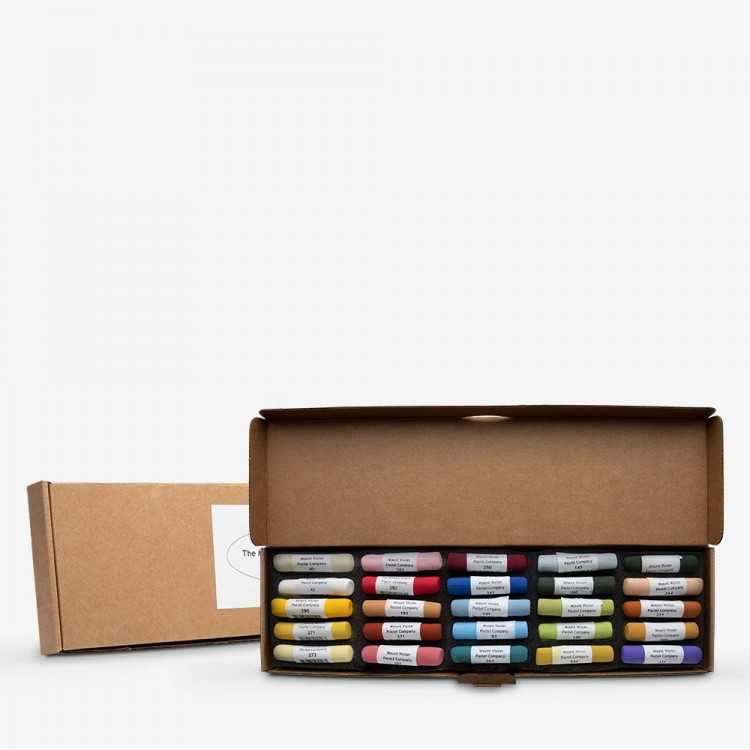 Mount Vision Soft Pastel : Set of 25 : Basic Colours