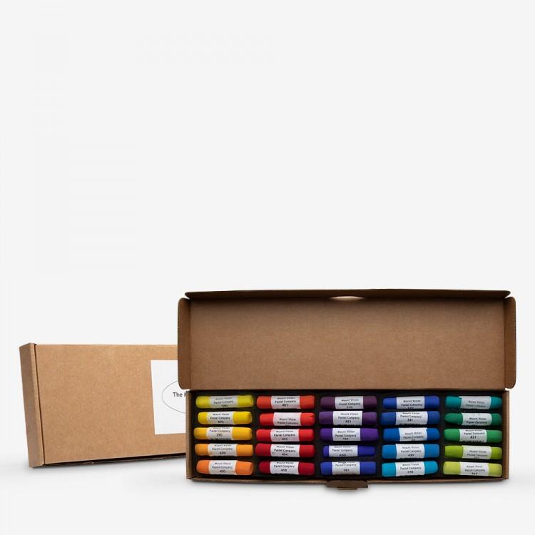 Mount Vision Soft Pastel : Set of 25 : Chromatic Colours