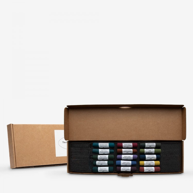 Mount Vision Soft Pastel : Set of 15 : Dark Tones