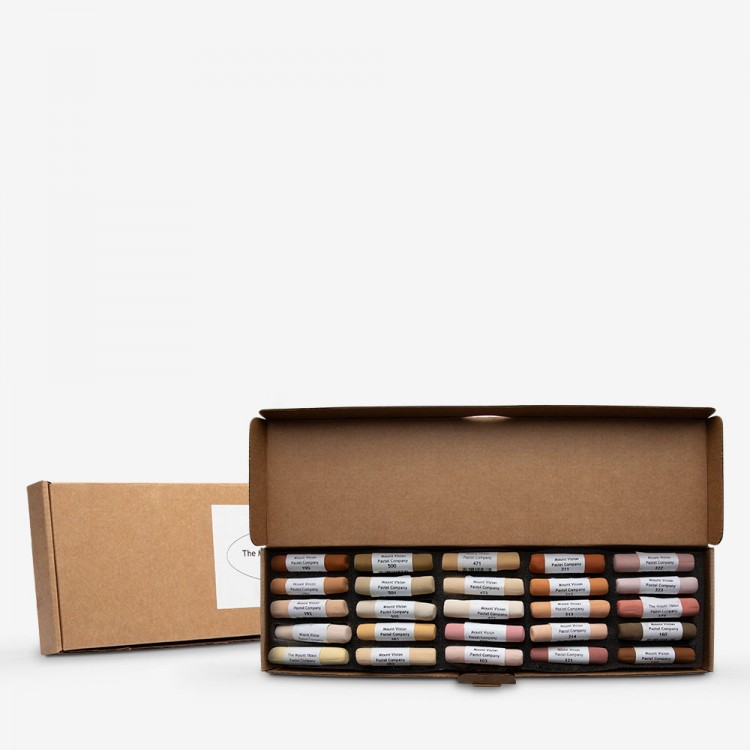 Mount Vision Soft Pastel : Set of 25 : Flesh Tones