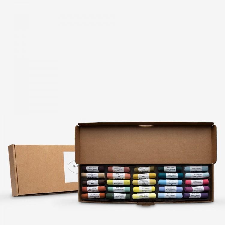 Mount Vision Soft Pastel : Set of 25 : Workshop Selection C