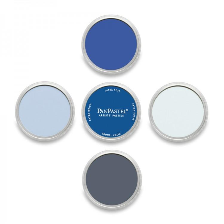PanPastel : Set : Blues : 5 Colours