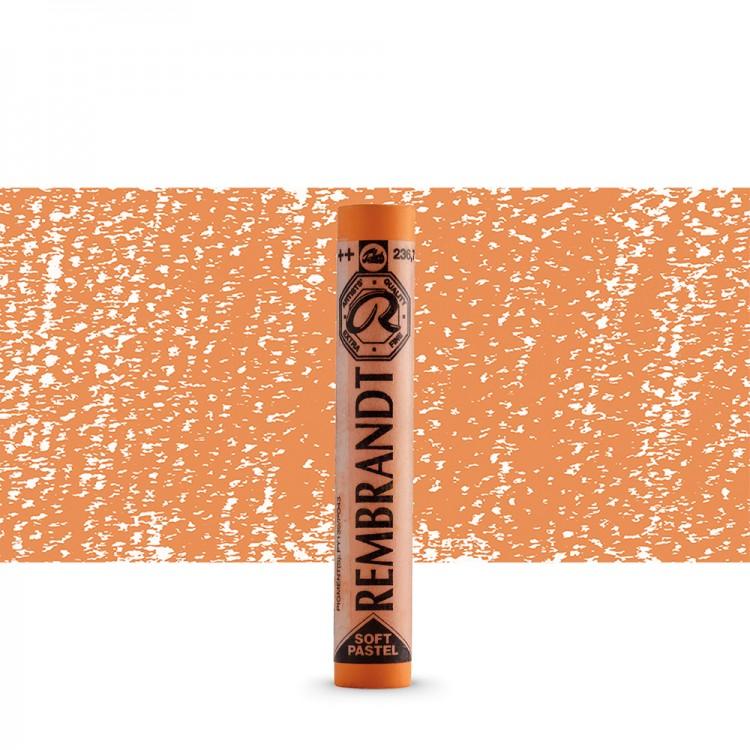 Talens : Rembrandt Soft Pastel : Light Orange TR236.7
