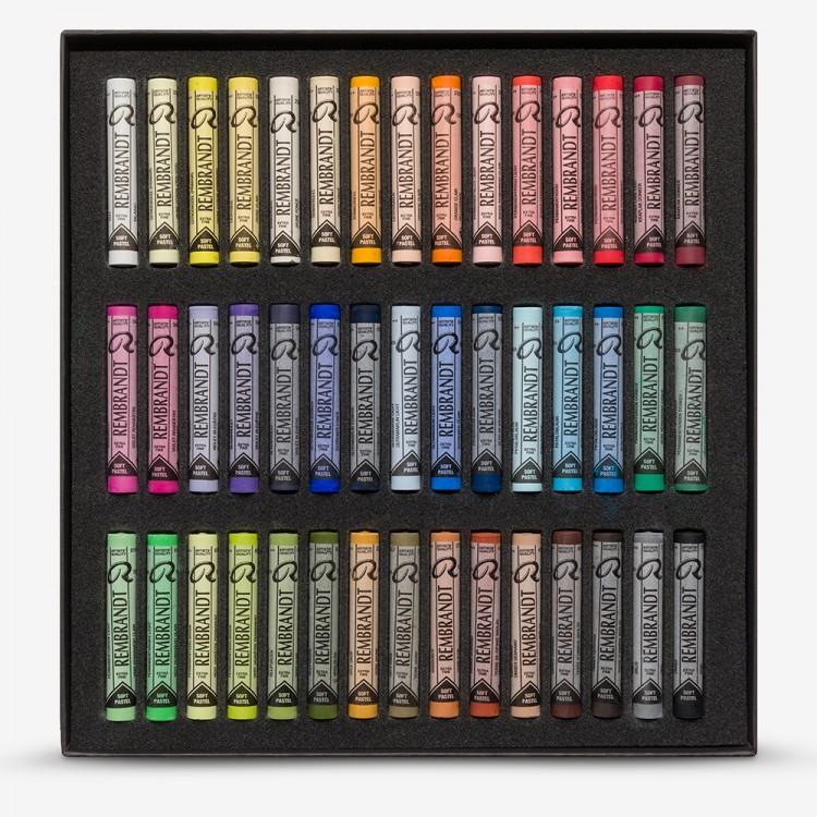 Talens : Rembrandt soft pastel : 45 Assorted Cardboard Set