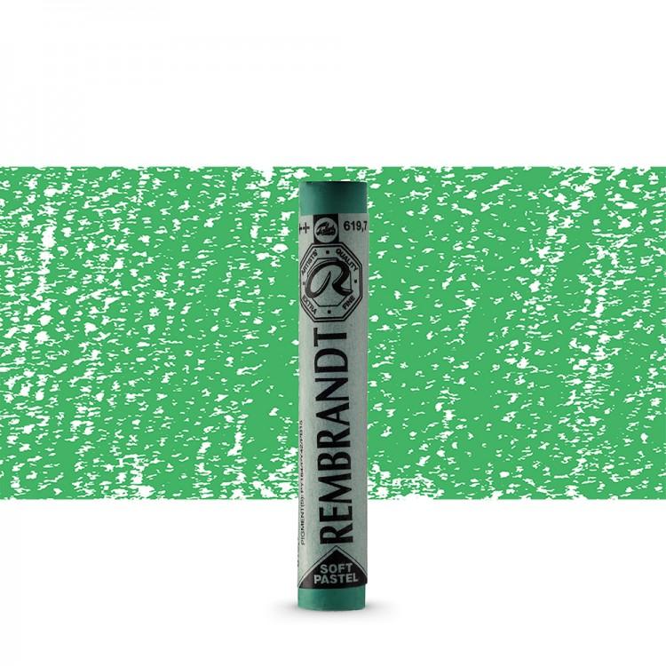 Talens : Rembrandt Soft Pastel : Permanent Green Deep TR619.7