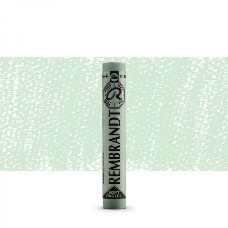 Talens : Rembrandt Soft Pastel : Permanent Green Deep TR619.9