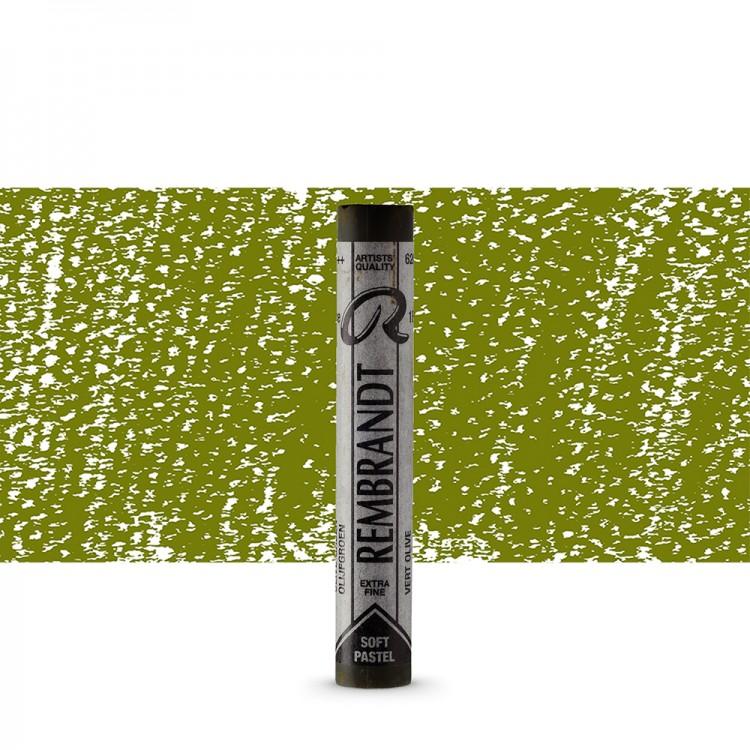 Talens : Rembrandt Soft Pastel : Olive Green TR620.3