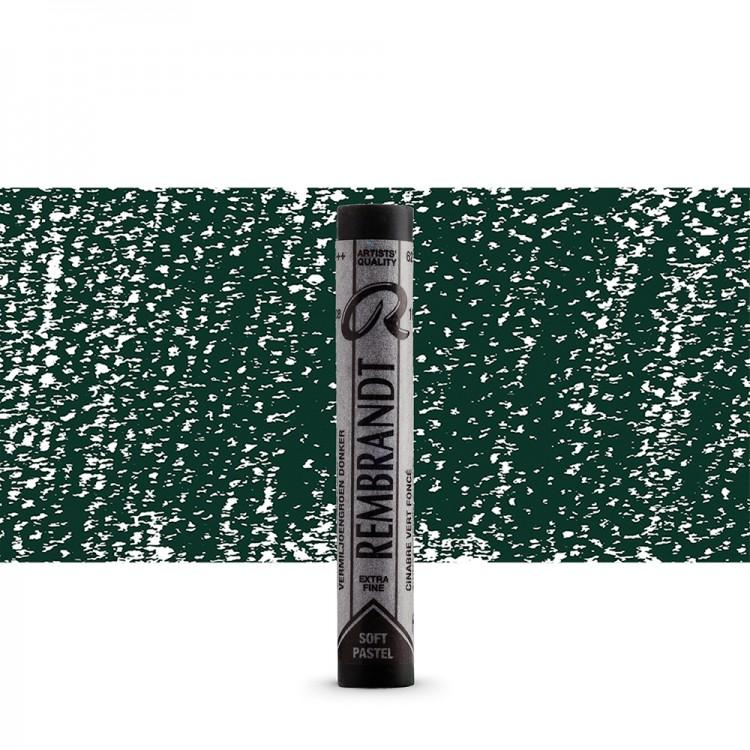 Talens : Rembrandt Soft Pastel : Cinnabar Green Deep TR627.2