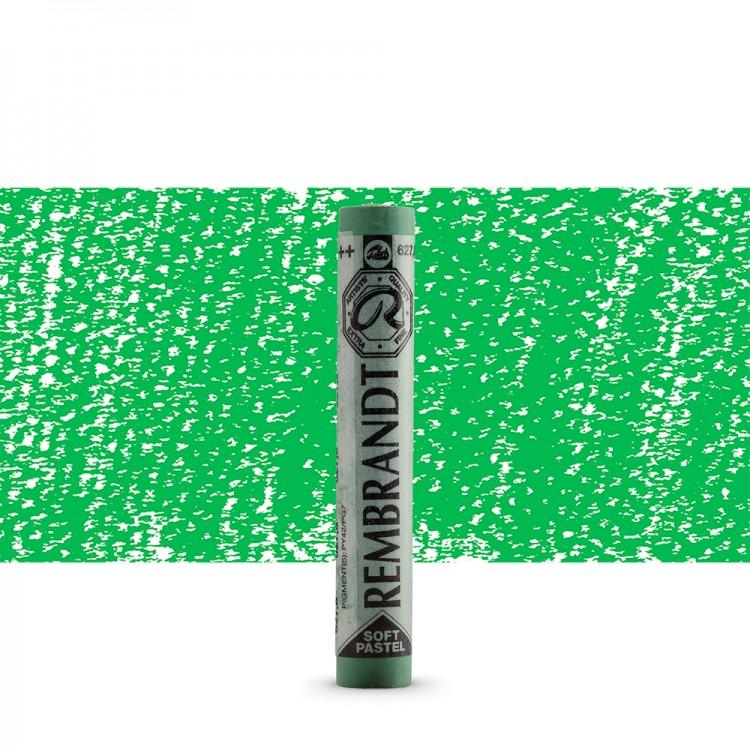 Talens : Rembrandt Soft Pastel : Cinnabar Green Deep TR627.8