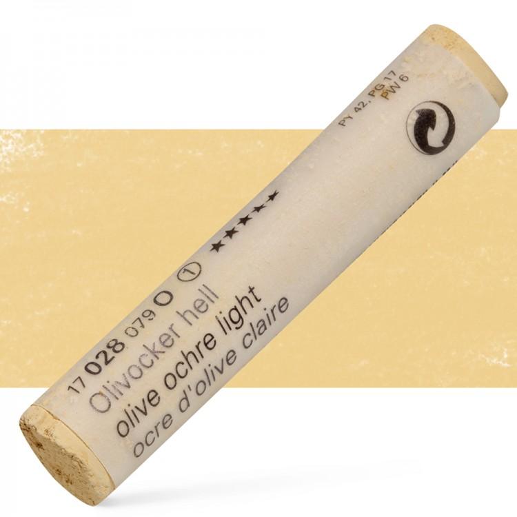 Schmincke : Soft Pastel : Olive Ochre Light- 28O