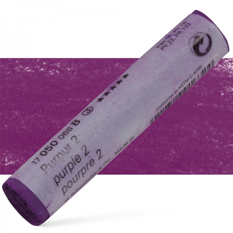 Schmincke : Soft Pastel : Purple No. 2.- 50B