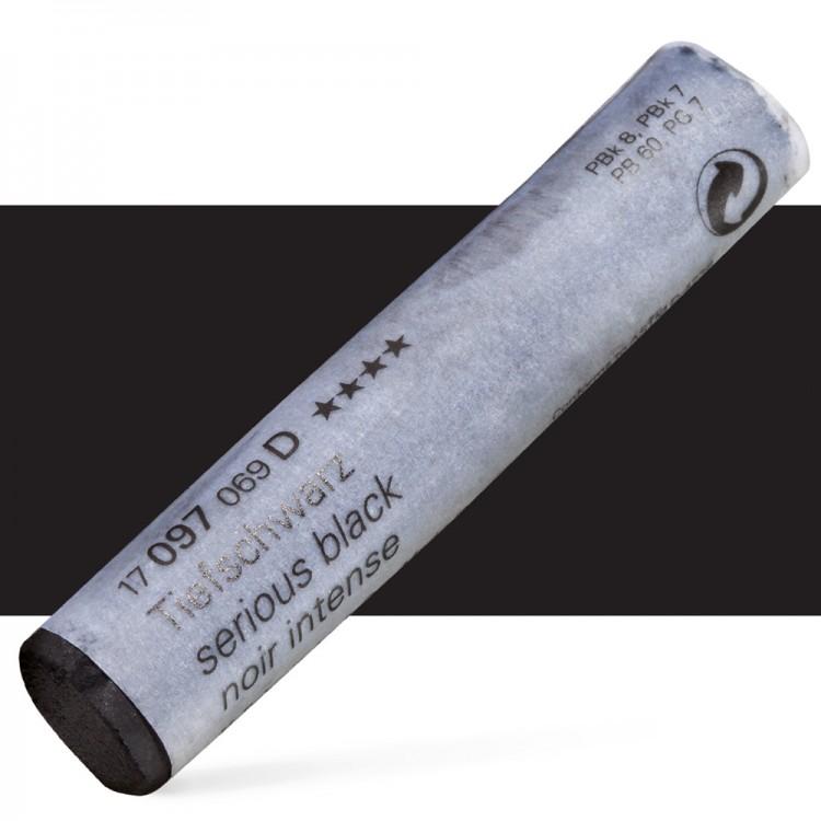 Schmincke : Soft Pastel : Serious Black- 97D