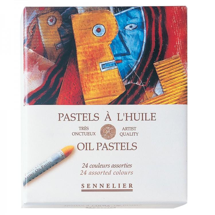 Sennelier : Oil Pastel : Set of 24