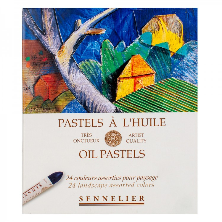 Sennelier : Oil Pastel : Set of 24 : Landscape