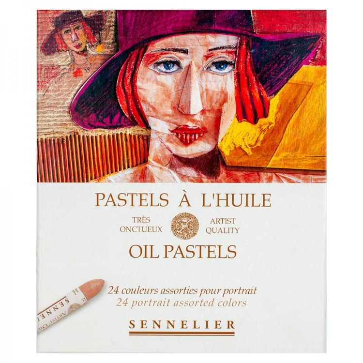 Sennelier : Oil Pastel : Set of 24 : Portrait