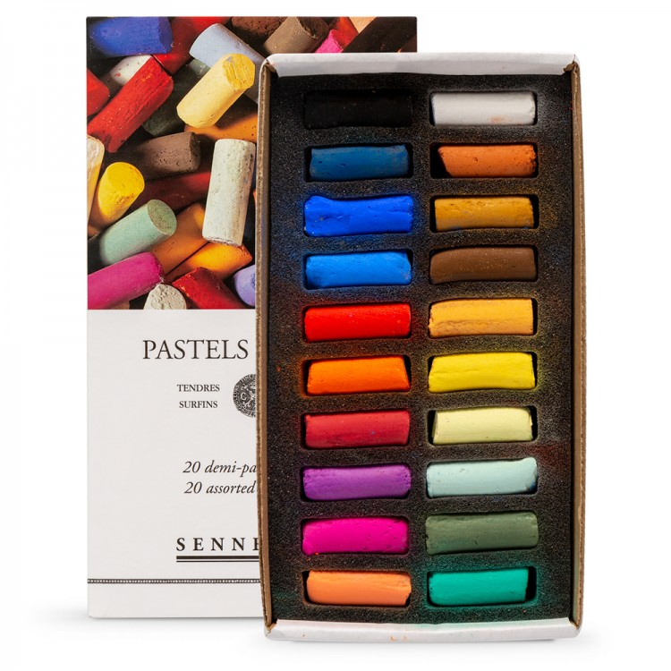 Sennelier : Soft Pastel : Half Stick : Set of 20
