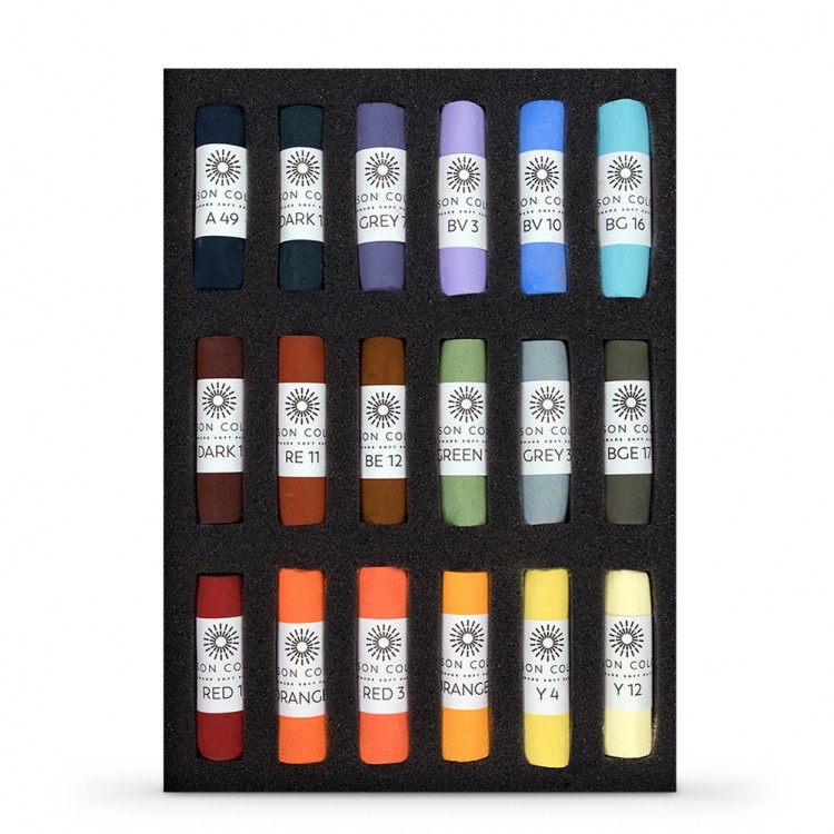 Unison Colour : Soft Pastel : Les Darlow Landscape Set of 18