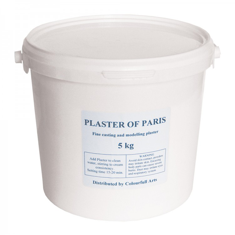 Colourfull Arts : 5kg Plaster of Paris