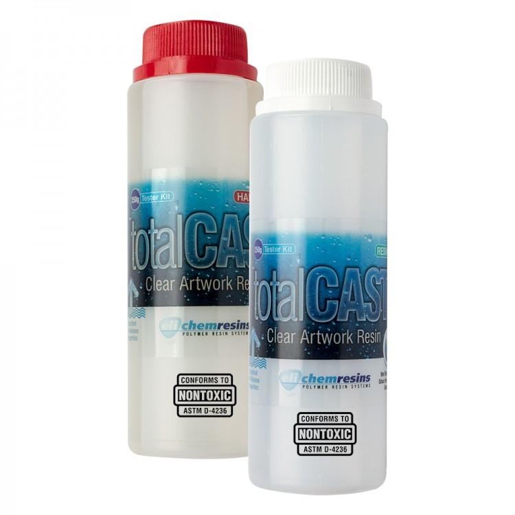 TotalCast : Clear Artwork Resin Tester Kit : 500g