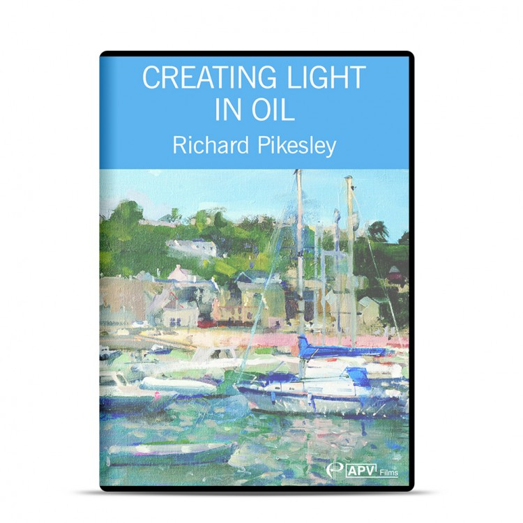 DVD : Creating Light in Oil : Richard Pikesley