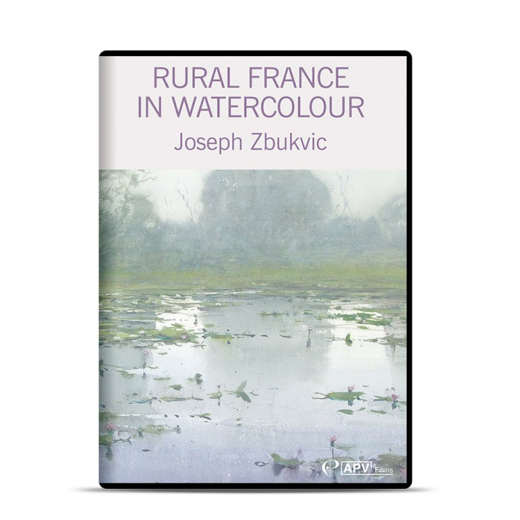 DVD : Rural France in Watercolour : Joseph Zbukvic