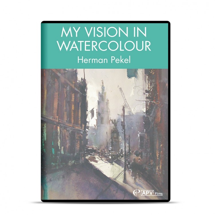 DVD : My Vision in Watercolour : Herman Pekel