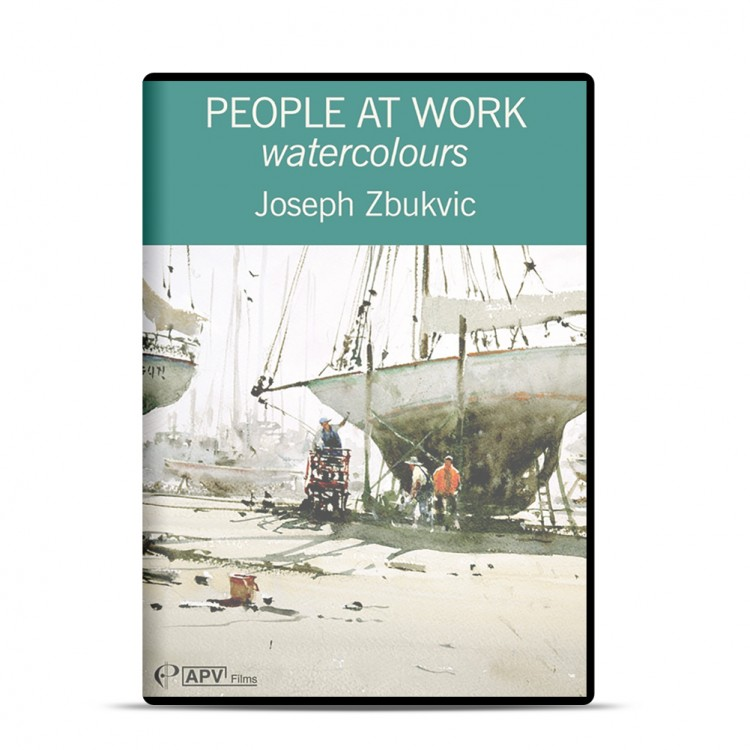 DVD : People at Work - Watercolours : Joseph Zbukvic