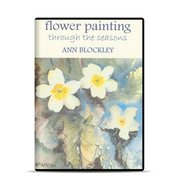 DVD : Flower Painting Through the Seasons : Ann Blockley