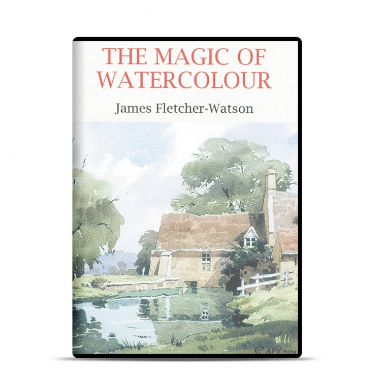 DVD : The Magic Of Watercolour : James Fletcher~Watson