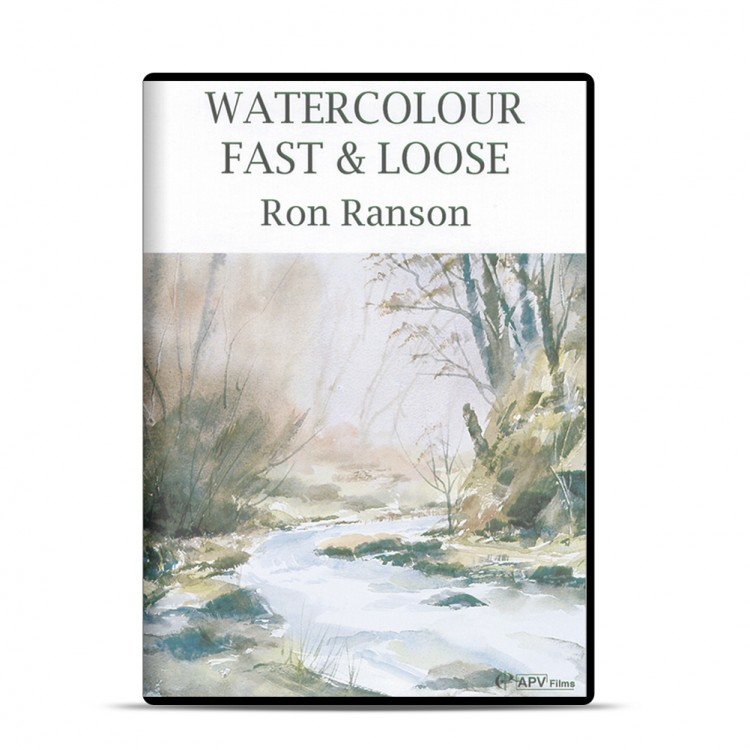 DVD : Watercolour Fast and Loose : Ron Ranson