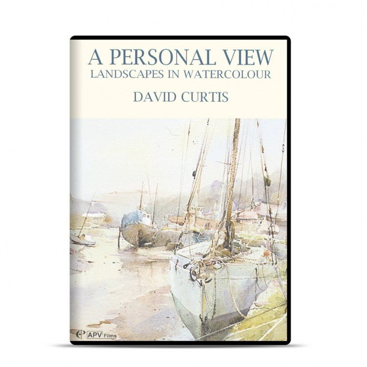 DVD : A Personal View: Watercolour : David Curtis
