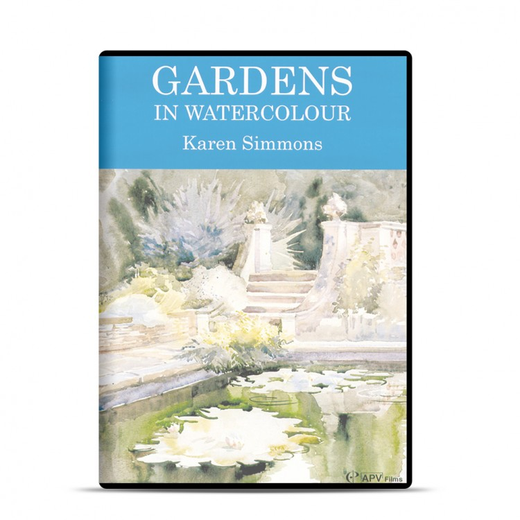 DVD : Gardens In Watercolour: Karen Simmons