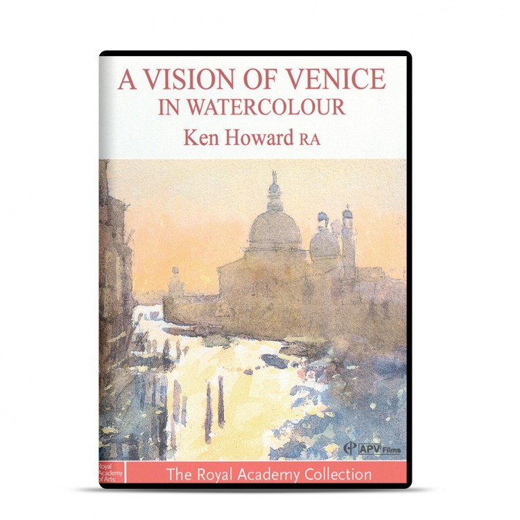 DVD : A Vision Of Venice: Watercolour : Ken Howard RA