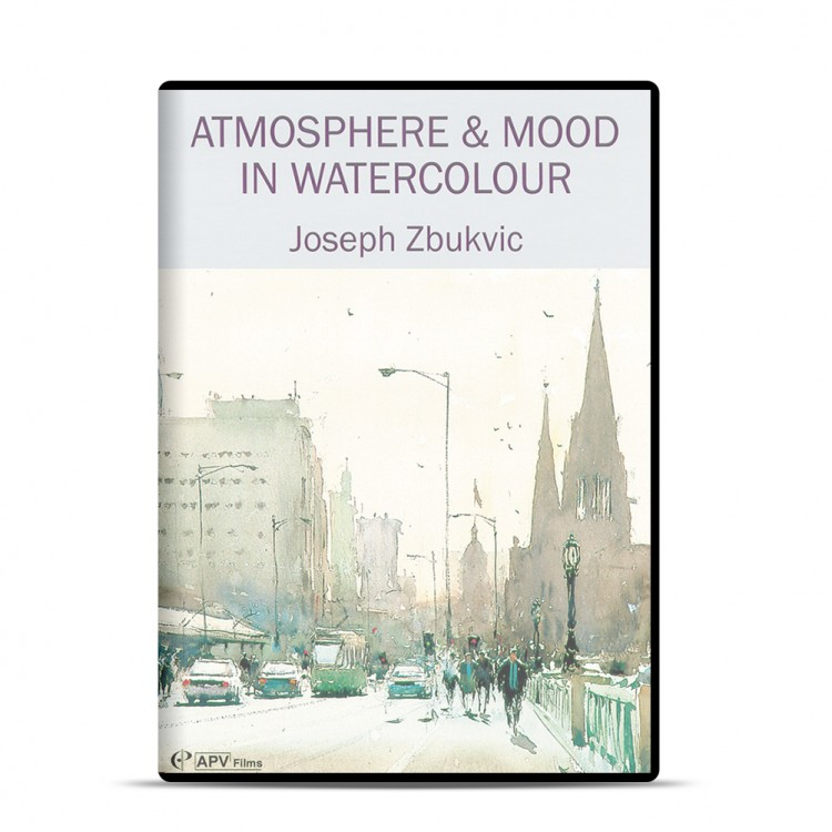 DVD : Atmosphere & Mood In Watercolour : Joseph Zbukvic