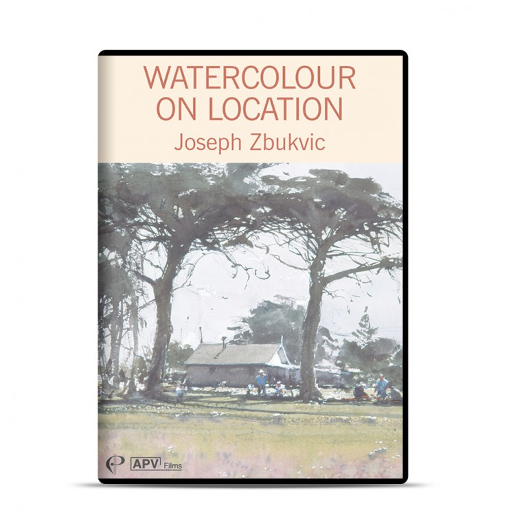 DVD : Watercolour on Location : Joseph Zbukvic