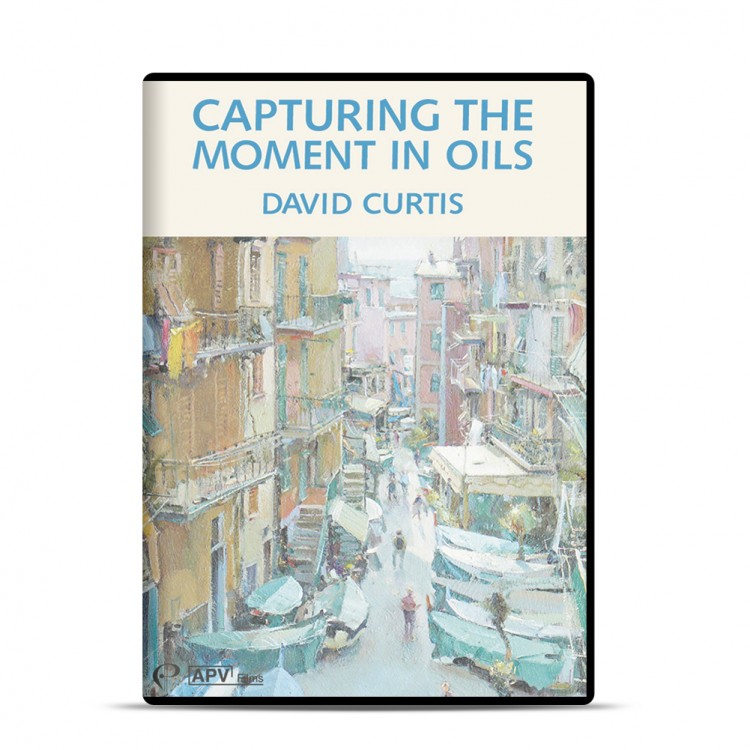 DVD : Capturing the Moment in Oils : David Curtis