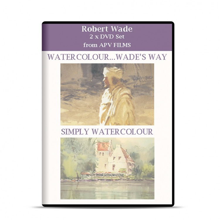 DVD : Twin Pack : Water Colour Wade's Way & Simply Watercolour : Robert Wade