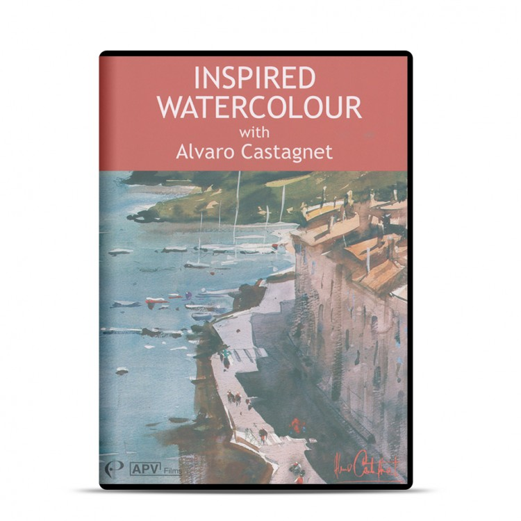 DVD : Inspired Watercolour : Alvaro Castagnet