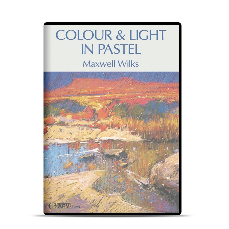 DVD : Colour and Light in Pastel : Maxwell Wilks