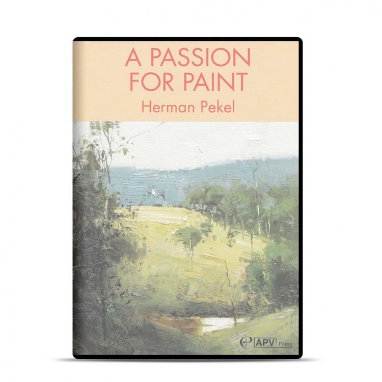 DVD : A Passion For Paint : Herman Pekel